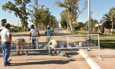 EL MUNICIPIO REALIZA MANTENIMIENTO DE CALLES, BACHEO Y PINTURA DE SENDAS PEATONALES