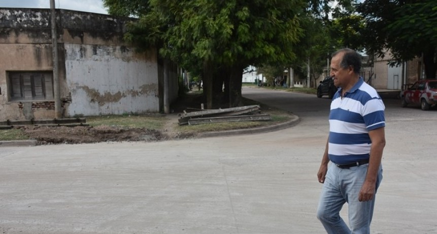 PAPP DESTACÓ LA CELERIDAD EN EL TRABAJO DE BACHEO EN ESQUINA DE JOSÉ MARTIN Y JOSÉ INGENIEROS