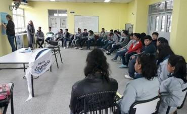 DESARROLLO SOCIAL JUNTO CON EL SENAF REALIZÓ UN TALLER DE