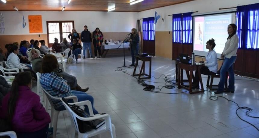 SECRETARÍA DE DESARROLLO SOCIAL MUNICIPAL INICIÓ LAS CHARLAS SOBRE PREVENCIÓN DE CÁNCER DE CUELLO DE ÚTERO