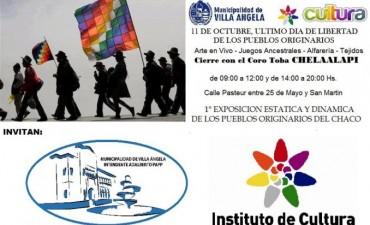 """CON EL CORO TOBA CHELAALAPI, VILLA ÁNGELA  SE CONMEMORA """"EL ÚLTIMO DÍA DE LIBERTAD DE LOS PUEBLOS ORIGINARIOS"""""""