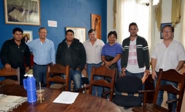 MUNICIPIO Y COOPERATIVISTAS GESTIONAN PROYECTOS PARA REACTIVAR LA OBRA PÚBLICA