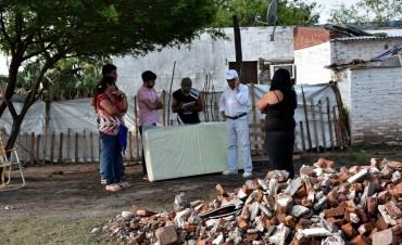 LA COMISIÓN DE EMERGENCIA INFORMÓ QUE MÁS DE 70 FAMILIAS SUFRIERON VOLADURA DE TECHOS