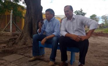 PEPPO RECONOCIÓ EL TRABAJO DEL MUNICIPIO PARA ACOMPAÑAR Y DAR RESPUESTAS A LAS FAMILIAS AFECTADAS POR LA TORMENTA