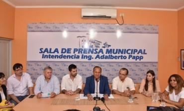 PAPP FIRMÓ CONVENIOS CON EL INTENDENTE DE PRESIDENCIA ROQUE SÁENZ PEÑA