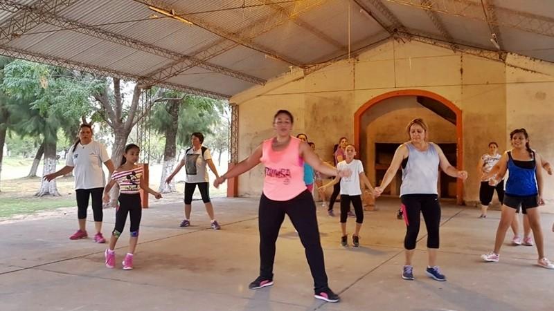 INICIAN CLASES GRATUITAS DE ZUMBA EN EL CAMPING MUNICIPAL