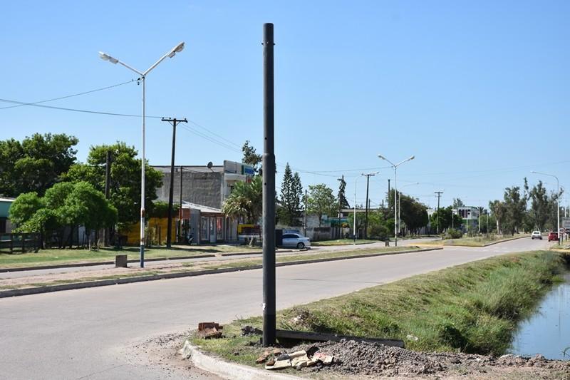 AVANZAN NUEVAS OBRAS PÚBLICAS EN TODA LA CIUDAD
