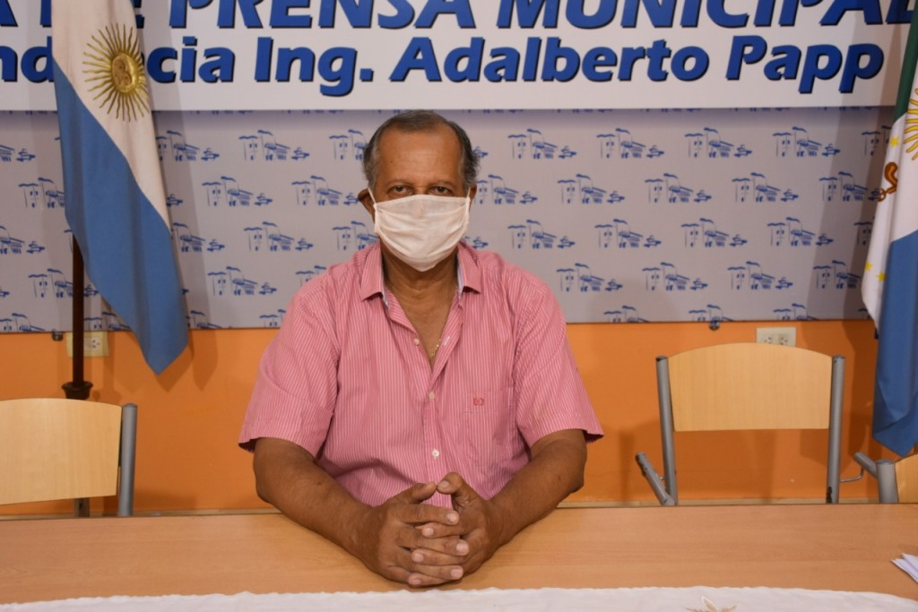 EL INTENDENTE PAPP ESPECIFICÓ LOS TRABAJOS QUE SE REALIZARÁN CON RECURSOS MUNICIPALES