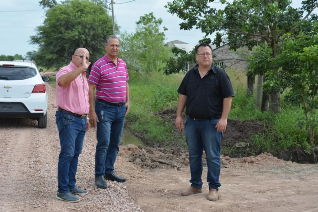 PAPP DESTACÓ EL TRABAJO DE RECONSTRUCCIÓN DE CALLES PARA QUE LOS VECINOS DEL LOTE 20 Y ZONA DE ALREDEDORES PUEDA CIRCULAR