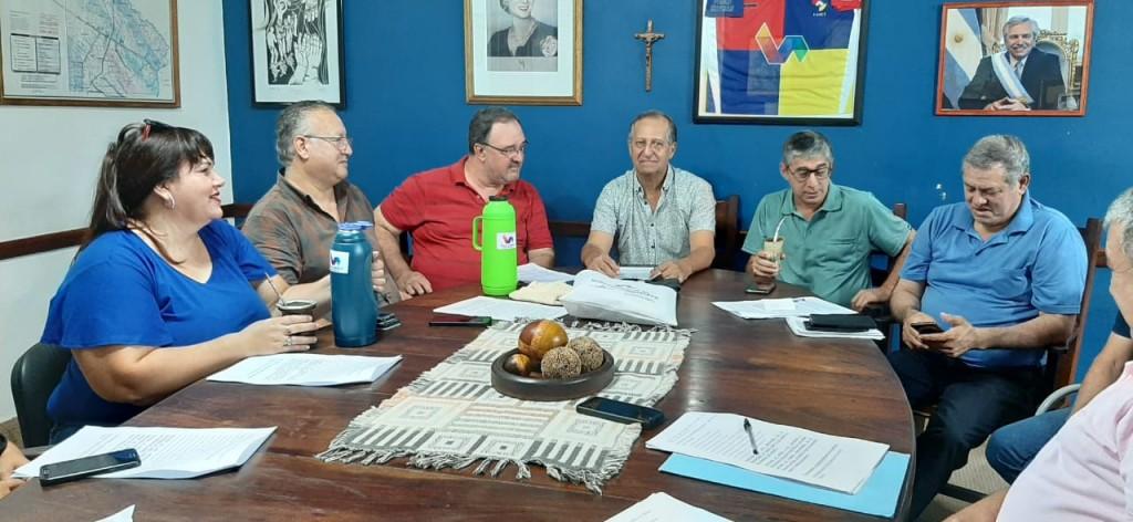 EL INTENDENTE PAPP CONVOCÓ A SU GABINETE PARA REORDENAR Y PLANIFICAR EL SISTEMA ADMINISTRATIVO