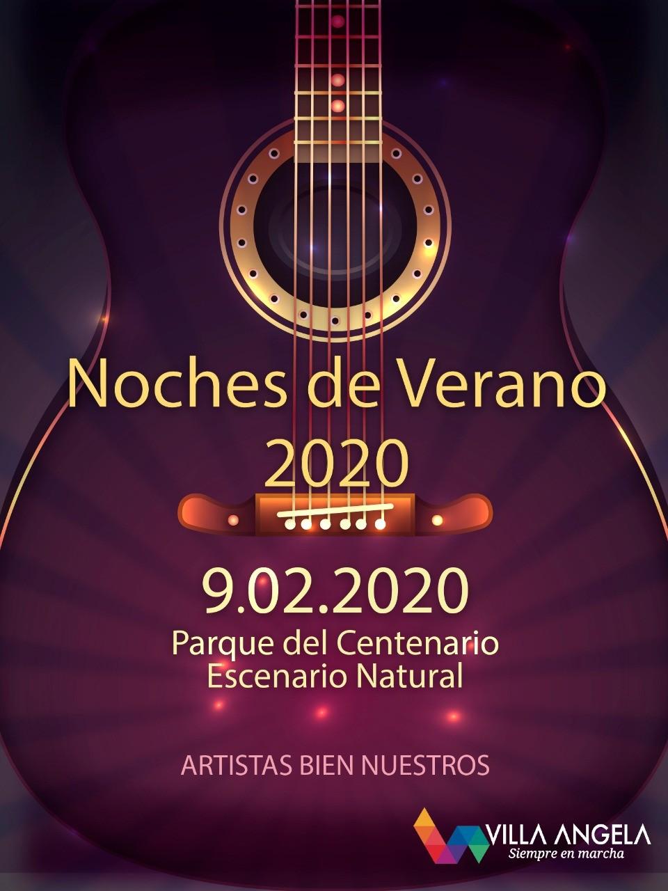 """INICIAN LAS """"NOCHES DE VERANO 2020 - ARTISTAS BIEN NUESTROS"""""""