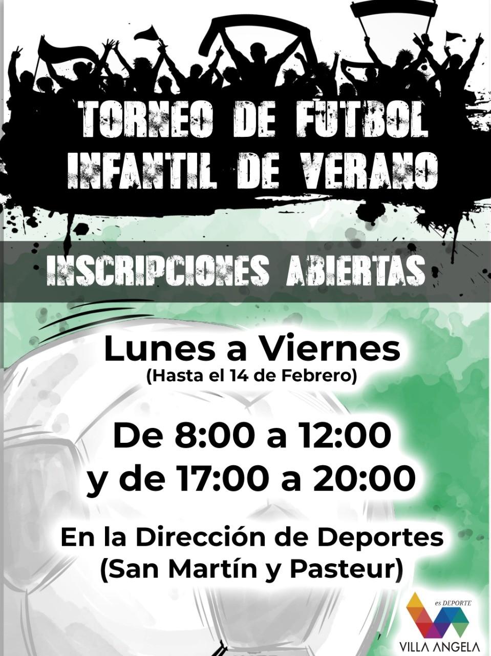 EL MUNICIPIO INVITA AL TORNEO INFANTIL DE FUTBOL DE VERANO
