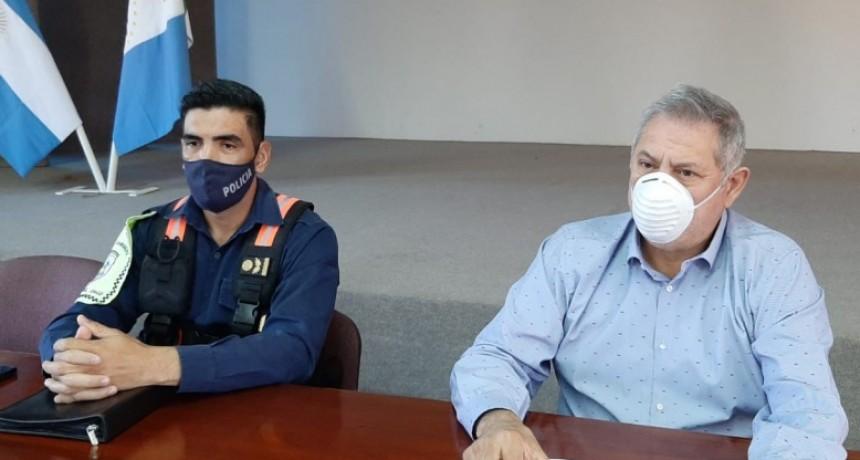 EL MUNICIPIO EN CONJUNTO CON LA POLICÍA EXPLICÓ LOS REQUISITOS PARA INGRESAR A LA LOCALIDAD