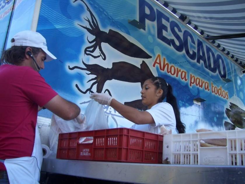 EL CAMIÓN DE PESADOS PARA TODOS NUEVAMENTE EN VILLA ÁNGELA