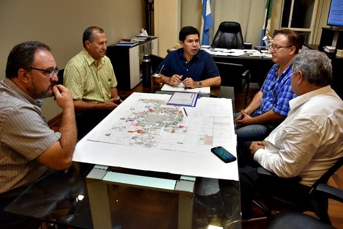 PAPP SE REUNIÓ CON EL MINISTRO MONZÓN PARA AVANZAR EN LA PLANIFICACIÓN DE VILLA ÁNGELA 2025