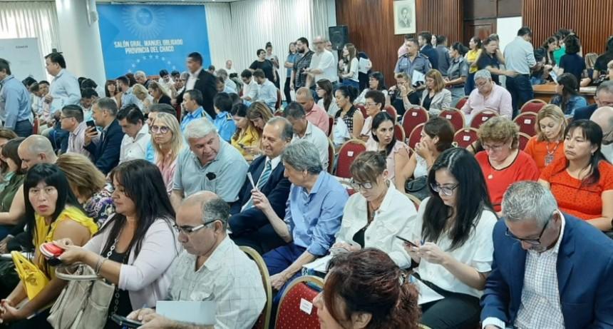 EL INTENDENTE PAPP PARTICIPÓ DE LA CAPACITACIÓN SOBRE GÉNERO Y VIOLENCIA CONTRA LAS MUJERES