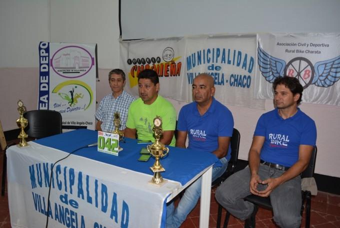 EL MUNICIPIO COLABORA CON LA PRIMERA FECHA DEL CAMPEONATO PROVINCIAL DE RURAL BIKE 2017 EN VILLA ÁNGELA