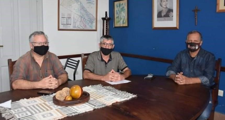 EL EJECUTIVO MUNICIPAL SE REFIRIÓ AL BUEN ESCURRIMIENTO DEL AGUA Y A LAS MEDIDAS BASADAS EN EL COVID-19