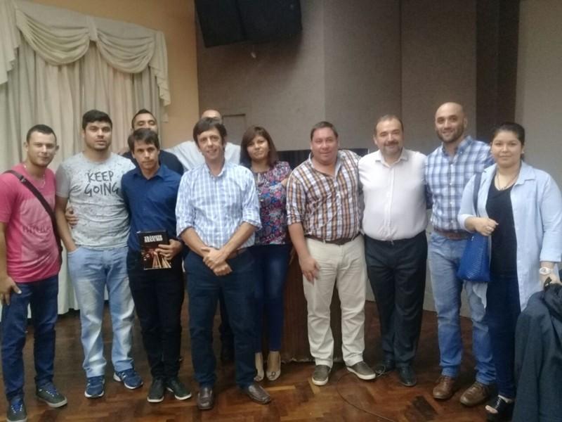 TRÁNSITO RECIBIÓ CAPACITACIÓN JUNTO A LA ASOCIACIÓN DE PRODUCTORES DE SEGUROS DEL CHACO