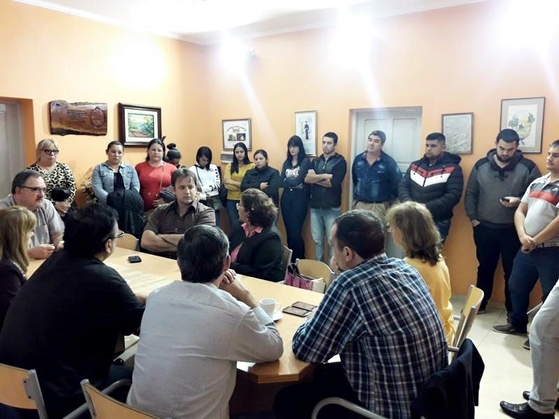 BROMATOLOGÍA MUNICIPAL Y MINISTERIO DE INDUSTRIA, COMERCIO Y SERVICIOS COORDINAN CAPACITACIÓN