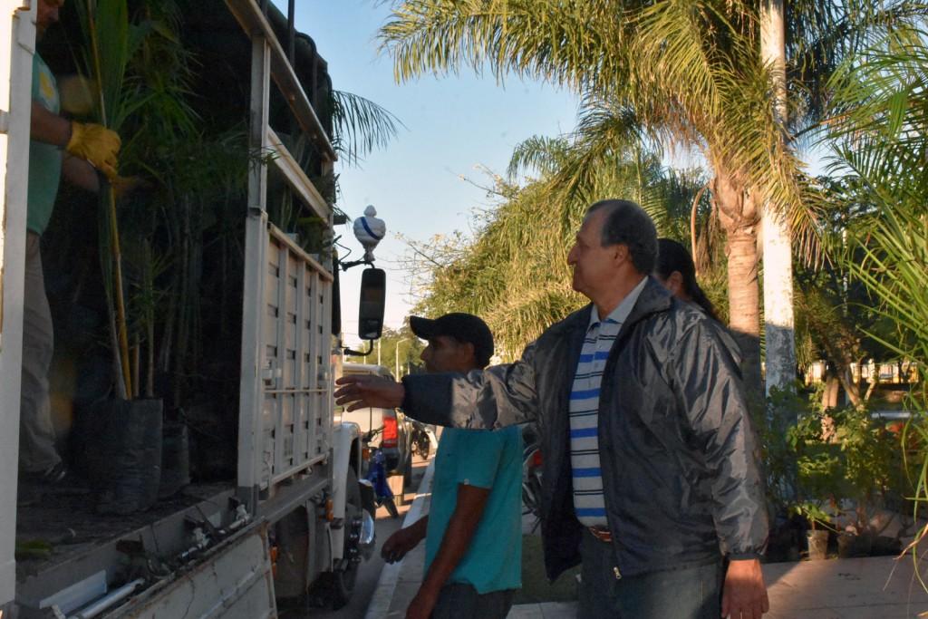 EL MUNICIPIO RECIBIÓ NUEVA PARTIDA DE PLANTINES