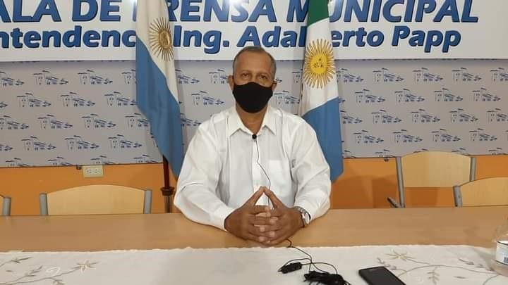 EL INTENDENTE PAPP ANUNCIÓ QUE CON RECURSOS MUNICIPALES CONSTRUIRÁ PAVIMENTO SOBRE AV. LEANDRO ALEM