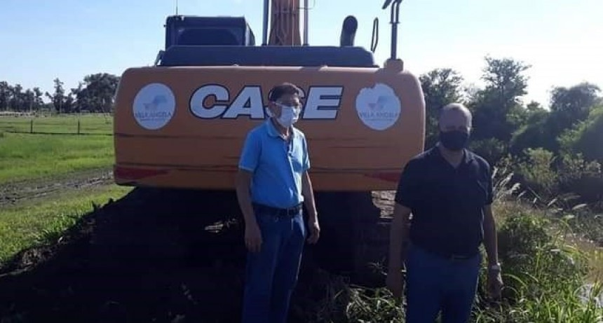 EL INTENDENTE PAPP DESTACÓ LA LIMPIEZA DEL CANAL
