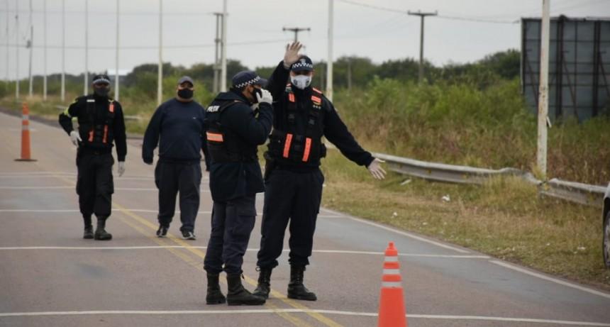 EL MUNICIPIO COLABORA CON EL CONTROL POLICIAL EN LOS ACCESOS A LA CIUDAD