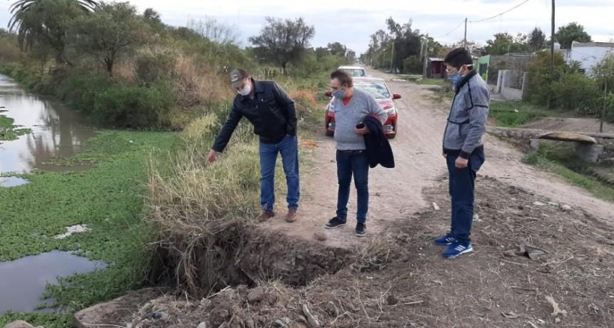 EL INTENDENTE PAPP ORDENÓ LA REPARACIÓN DE UN PUENTE DAÑADO EN ZONA SUR