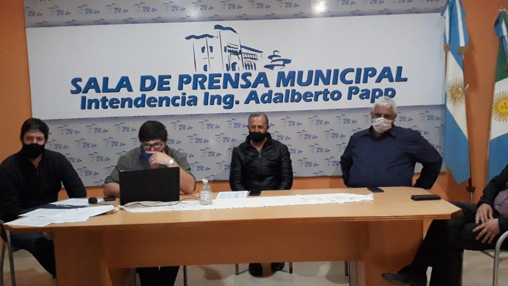 EN REUNIÓN DE COMISIÓN DE EMERGENCIA AGROPECUARIA, SE PRESENTÓ AL NUEVO DELEGADO DEL MINISTERIO DE LA PRODUCCIÓN