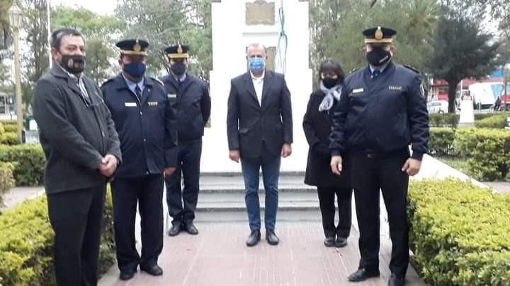 EL INTENDENTE PAPP PARTICIPÓ DEL ACTO POR EL 68° ANIVERSARIO DE LA POLICÍA DEL CHACO