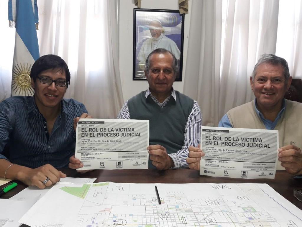 EL MUNICIPIO Y LA COMISIÓN PRO UNNE INVITAN A CAPACITACIÓN SOBRE EL ROL DE LA VICTIMA EN EL PROCESO