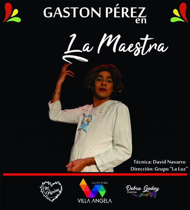 "CULTURA INVITA A PARTICIPAR DEL UNIPERSONAL ""LA MAESTRA"" EN LA SALA BERNARDO ÁLVAREZ"