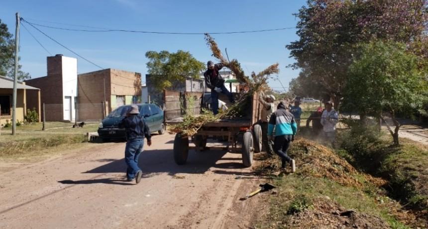 EL MUNICIPIO LLEVÓ A CABO LA LIMPIEZA DE BASURALES A CIELO ABIERTO