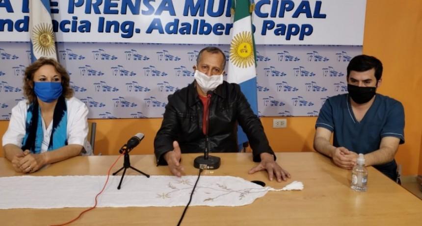 EL INTENDENTE ADALBERTO PAPP CONFIRMÓ EL PRIMER CASO POSITIVO DE COVID-10 EN VILLA ÁNGELA