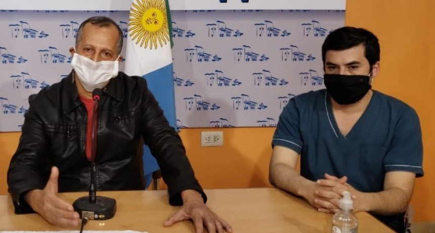 EL INTENDENTE ADALBERTO PAPP INFORMÓ SOBRE LA SITUACIÓN ACTUAL DE COVID-19 EN LA CIUDAD