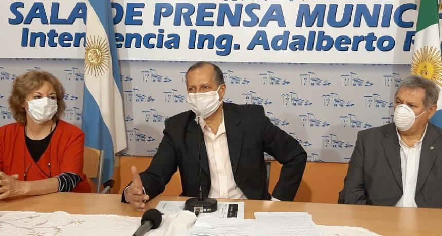 EL INTENDENTE ADALBERTO PAPP CONFIRMÓ EL CASO POSITIVO POR COVID-19 EN LA CIUDAD