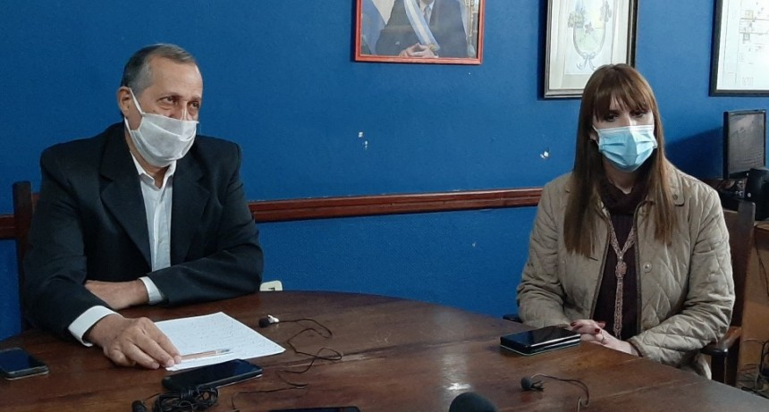 EL INTENDENTE ADALBERTO PAPP SE REUNIÓ CON LA MINISTRA DE SALUD DE CHACO