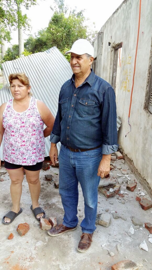 DESARROLLO SOCIAL ASISTE A DAMNIFICADOS AFECTADOS POR LA ÚLTIMA GRAN TORMENTA