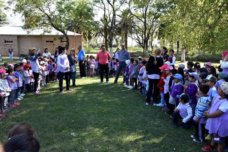 EL ÁREA DE DEPORTES INICIÓ EL CAMPAMENTO DE LOS JARDINES DE INFANTES