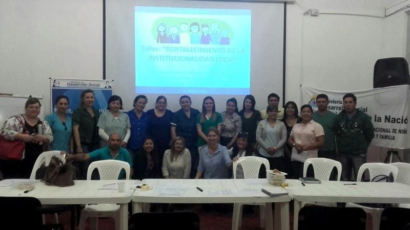 DESARROLLO SOCIAL ARTICULA TALLERES CON LA SECRETARÍA DE NIÑEZ, ADOLESCENCIA Y FAMILIA.