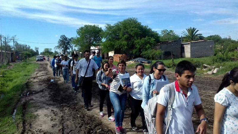 ALUMNOS DE LA UEGP N°172 REALIZARON OBSERVACIONES DE CAMPO EN LA QUINTA 53