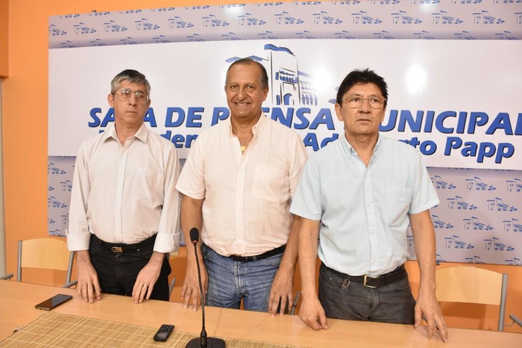 PAPP ANUNCIÓ QUE LOS EMPLEADOS MUNICIPALES YA PUEDEN COBRAR EL SUELDO DE OCTUBRE