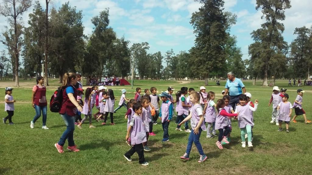 EL ÁREA DE DEPORTES REALIZÓ BALANCE SOBRE CAMPAMENTO DE LOS JARDINES DE INFANTES EN EL CAMPING MUNICIPAL