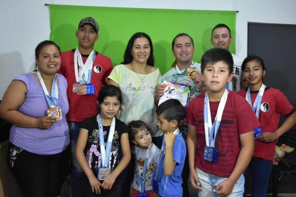 TRES VILLANGELENSES CAMPEONES MUNDIALES EN TORNEO MUNDIAL DE ARTES MARCIALES