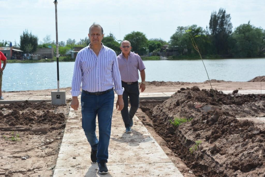 PAPP DESTACÓ EL TRABAJO EN CONJUNTO DE TODAS LAS ÁREAS DEL MUNICIPIO EN LA RECONSTRUCCIÓN DE LA PLAZA SARGENTO CABRAL
