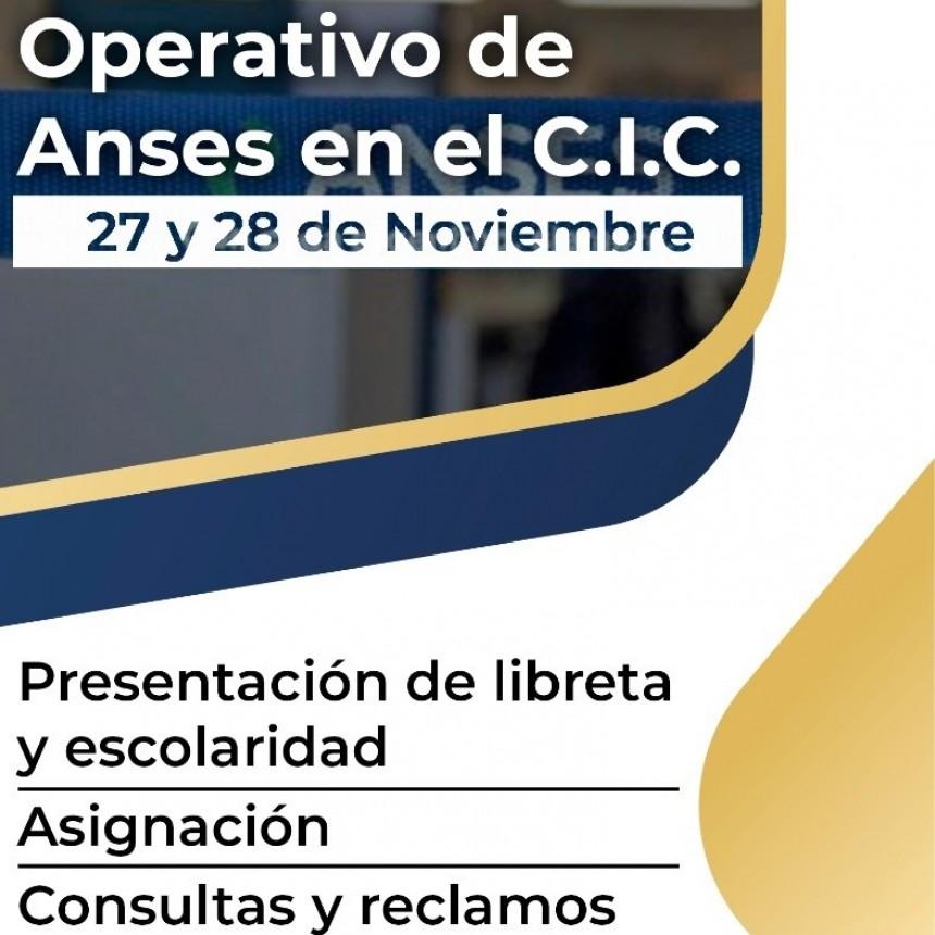 EL MUNICIPIO COORDINA UN MINI OPERATIVO DE ANSES EN EL CIC