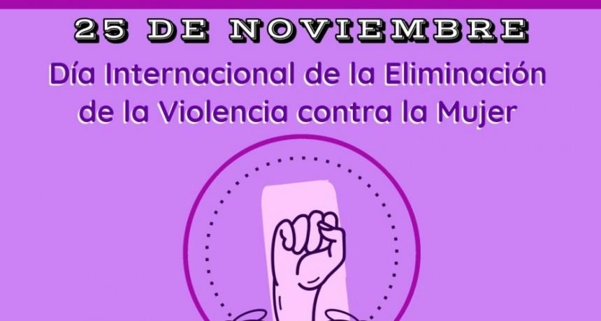 EL MUNICIPIO INFORMÓ SOBRE LA CAMPAÑA DEL DÍA INTERNACIONAL DE LA ELIMINACIÓN DE LA VIOLENCIA CONTRA LA MUJER