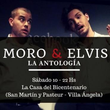 """SHOW HUMORÍSTICO """"MORO Y ELVIS"""" PROMETE SORPRENDER EN VILLA ÁNGELA"""
