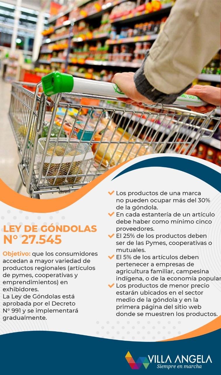 EL MUNICIPIO INFORMA SOBRE LA LEY DE GÓNDOLAS
